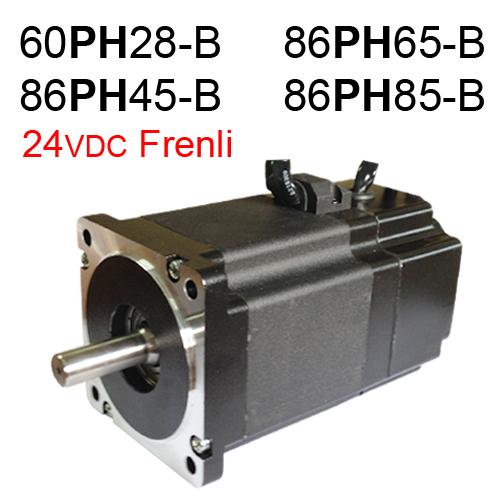 24VDC Frenli Step Motor